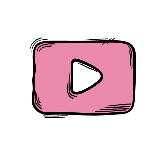 Youtube-Play-Button-Pink